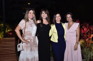 Emanuela Sampaio, Adriana Barreto, Lidiane Angelim e Ana Patrícia Dantas Leao