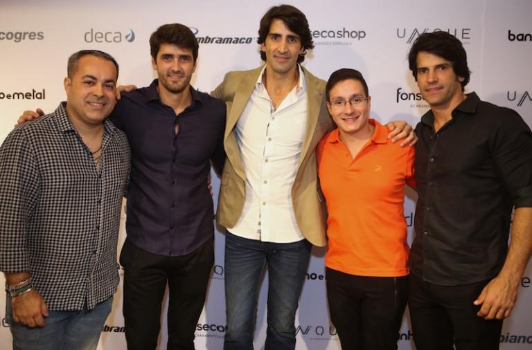 Ginno Larry, Pedro e Paulo Fonseca, Jose Mion e Andres Fonseca
