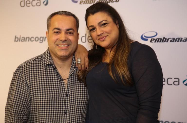 Ginno Larry e Ana Paula Guimarães