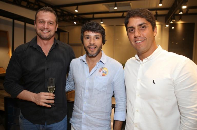 Léo Coutinho, Leandro Tomazzi e Odilon Franco