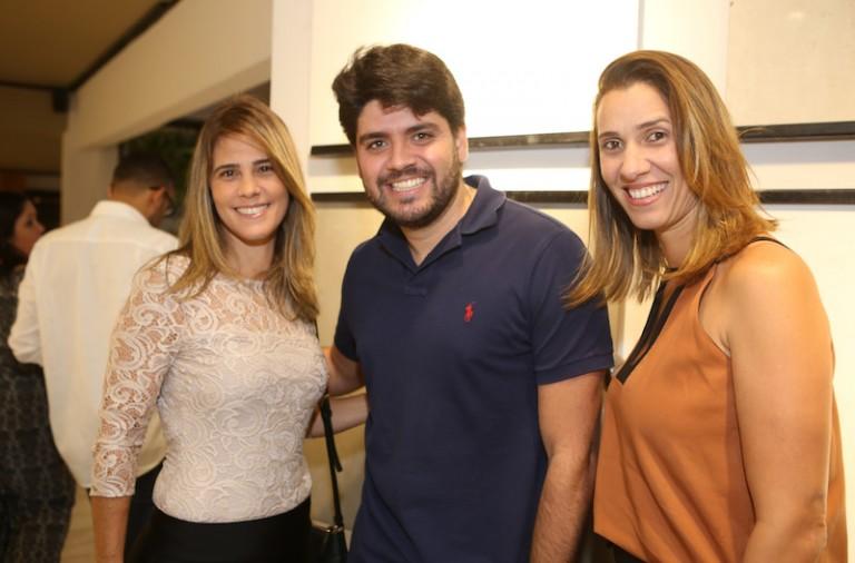 Manuela Mathias, Pedro Pires e Viviane Rego