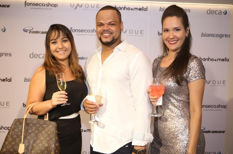 Maria Eduarda Moscone, Marcos Ribeiro e Duda