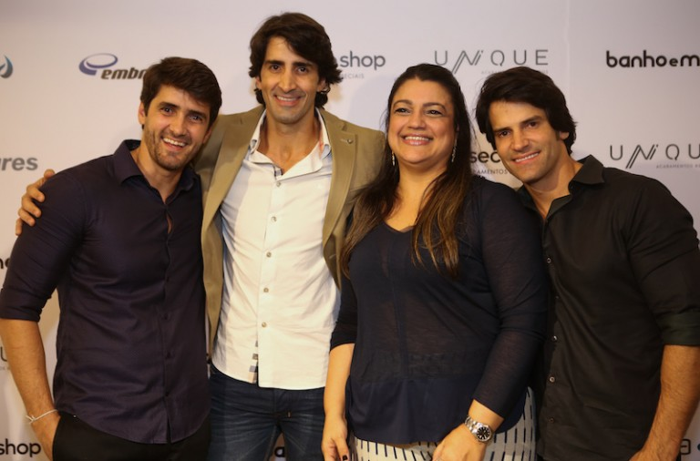 Pedro Fonseca, Paulo Fonseca, Ana Paula Guimarães e Andres Fonseca
