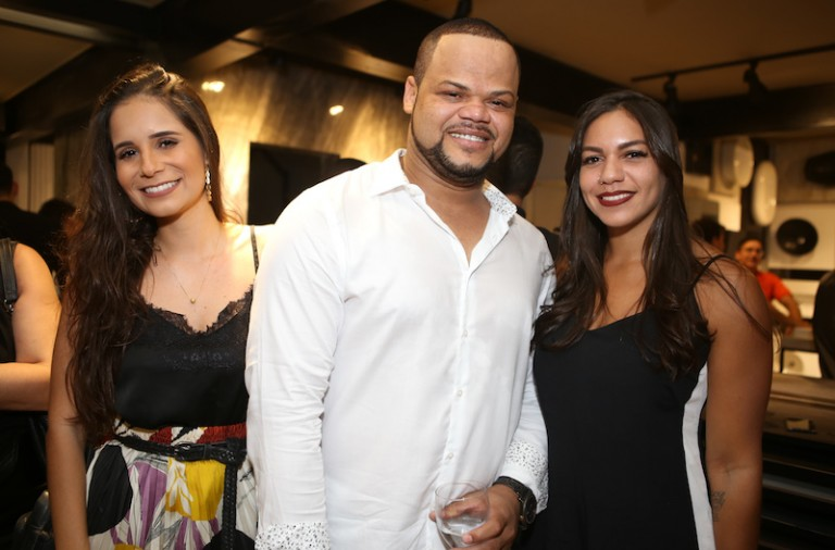 Rebecca Sieiro, Marcos Ribeiro e Fernanda Sá