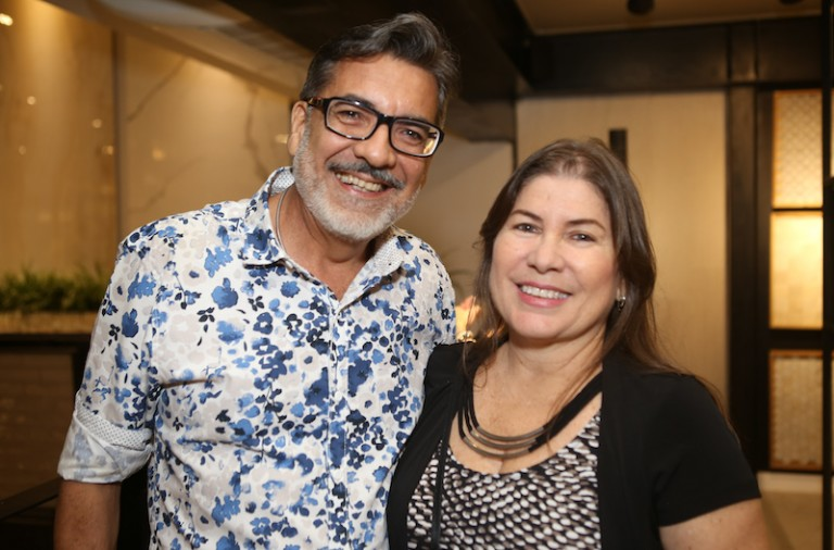 Roberto Cordeiro e Ana Maia