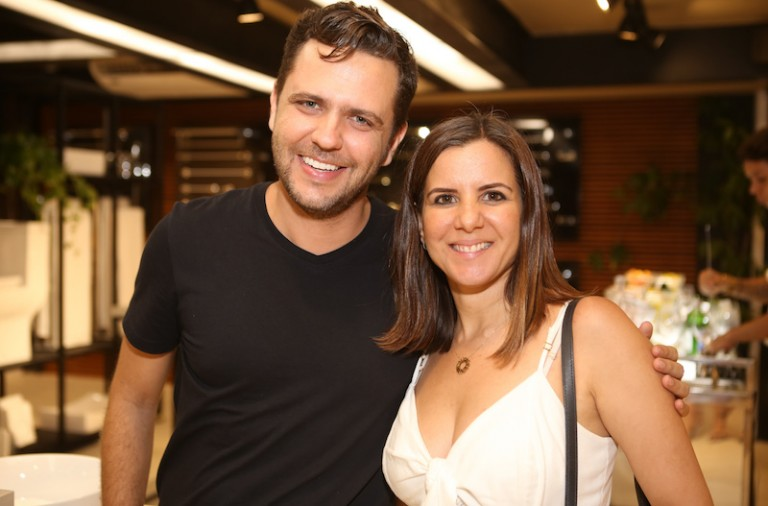 Rodrigo Casieri e Naissa Vieiralves
