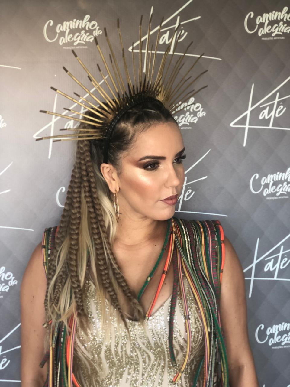 Katê de Deusa da terra para o carnaval de Salvador 2019