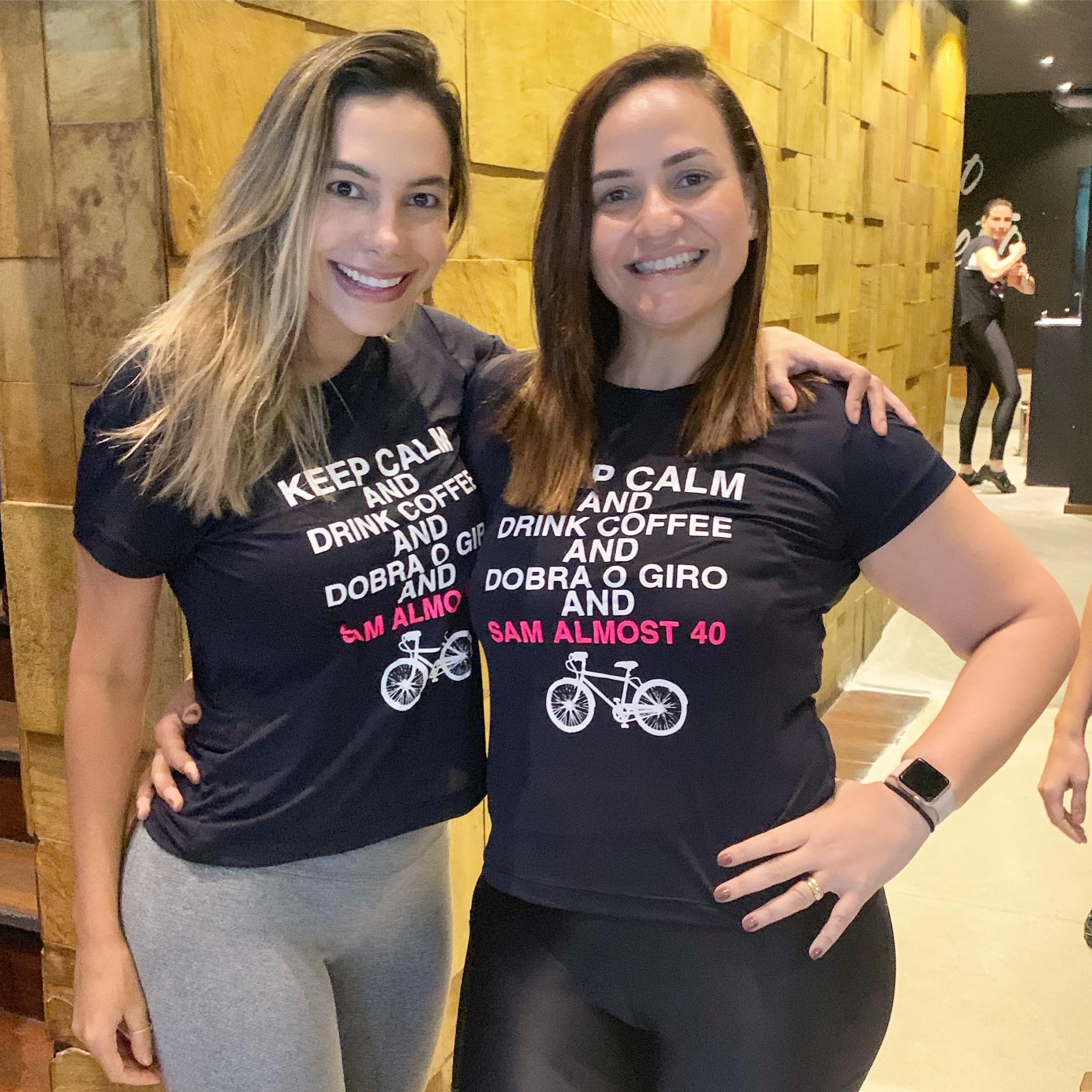 Dra Samira Mascarenhas e a prima Anacecilia Rocha