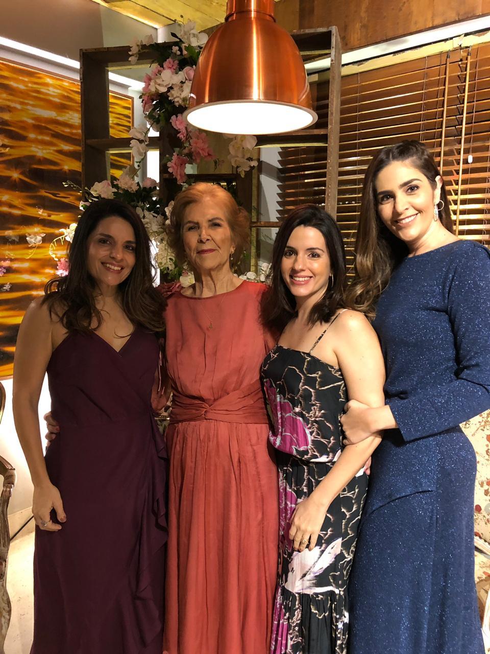 Daniela Rocha, Cristiana Baiardi e Maria Silvana Mascarenhas