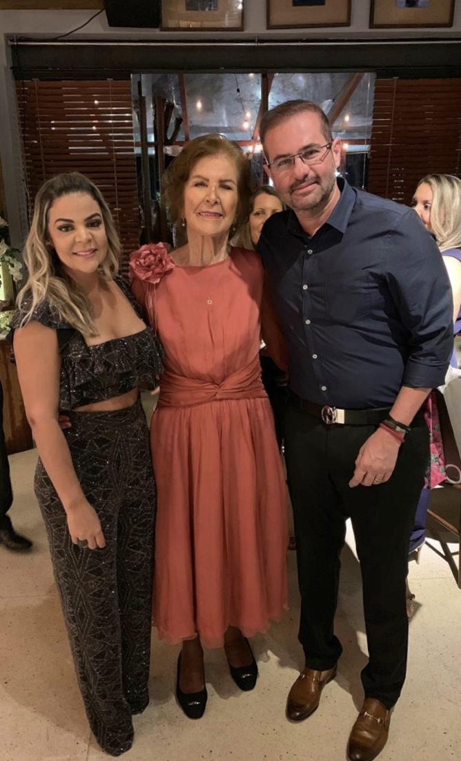 Serydiane Mascarenhas, Thereza Boaventura e Milton Falcão