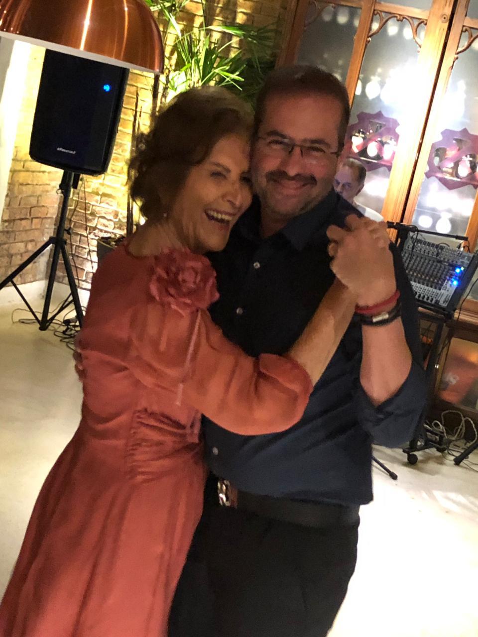 Thereza Boaventura e Milton Falcão