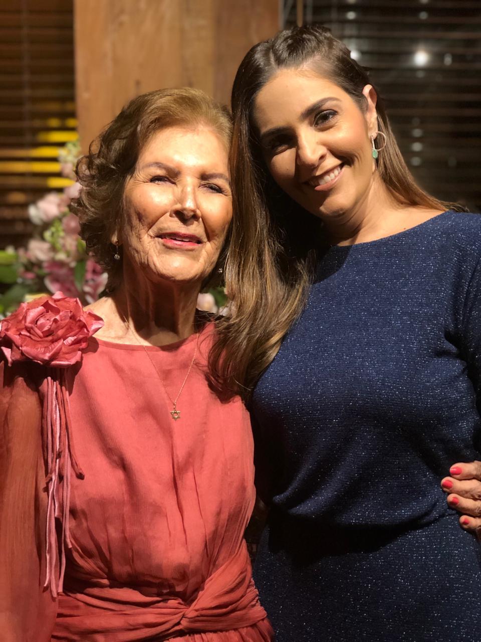 Thereza Boaventura e Maria Silvana Mascarenhas